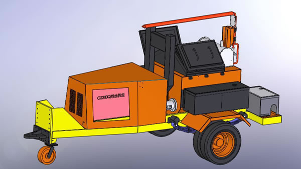 Road Sealing Machine